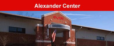 CVCC Alexander Center building