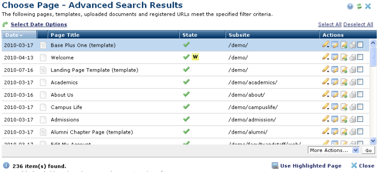 a9ff6af9c3e Choose Page Advanced Search Results