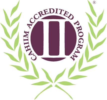 Cahiim Accredited logo for Health Information Technology