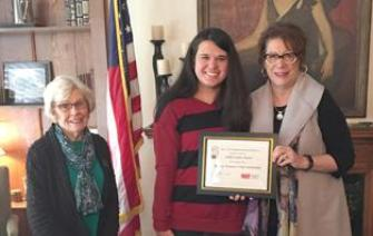 Turner Receives Hickory Woman's Club Scholarship