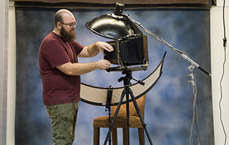 Joshua White Tintype Instructor